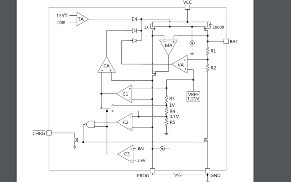 HM5054E線性鋰離子電池充電器芯片的數據手冊免費下載