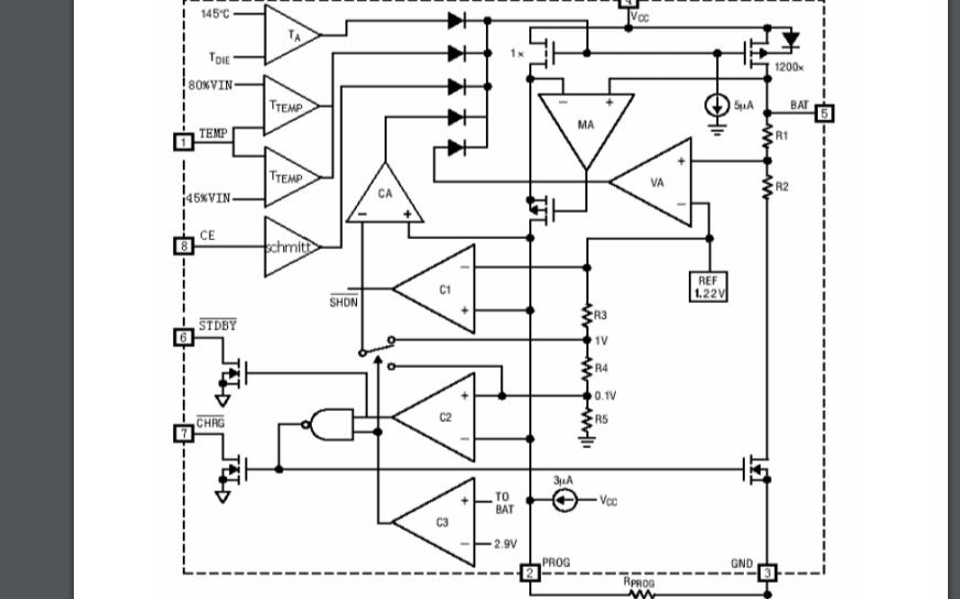 HM5056恒流恒壓線性充電器芯片的數據手冊免費下載