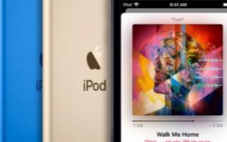 苹果公司宣布了一款新的iPod touch