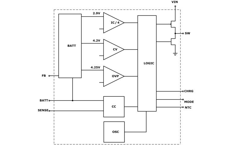 HM5063单节锂电池开关式充电管理芯片的数据手册免费下载