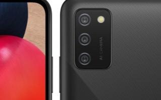 三星宣布了其名为Galaxy A02s的智能手机