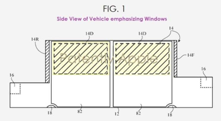 Apple新專利:擁有全系影像功能的HUD抬頭顯示系統