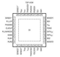 同步降壓型DC/DC控制器LTC3826的功能高通的及適用范圍