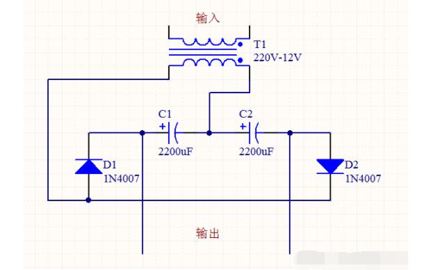如何使用四个元件做一个升压电路