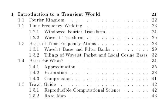 小波信號處理之旅PDF電子資料下載