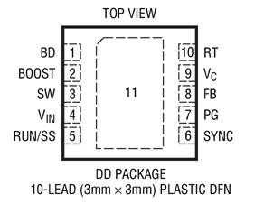 降压型DC/DC转换器LT3480的性能特点及适用范围