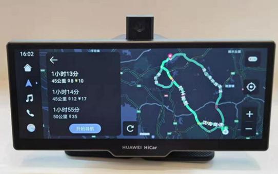 像手機一樣好用的車載智慧屏!華為首款車載智慧屏有哪三大看點?