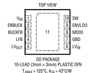 同步降壓型穩壓器LTC3541的性能特點及適用范圍