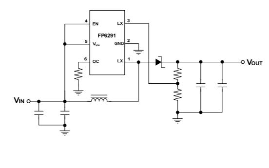 PF6291升壓DCDC轉換器的英文數據手冊免費下載