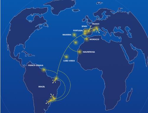 海底光纜系統EllaLink將在巴西部署