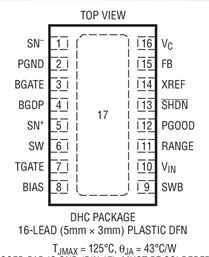 高輸出功率降壓型同步控制器LT3740的性能特點及應用