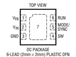 同步降壓型穩壓器LTC3542的性能特點及適用范圍