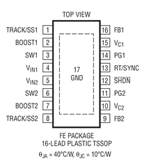 PWM降壓型DC/DC轉換器LT3508的性能特點及適用范圍