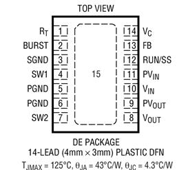 同步降壓-升壓型轉換器LTC3533的性能特點及應用范圍