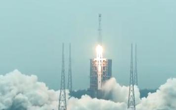 長征八號運載火箭首飛成功 玉兔二號行駛里程突破600米 點贊