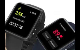 小米Mi Watch Lite安裝在1.4英寸IPS LCD屏幕上