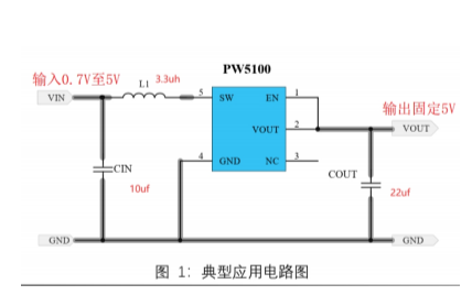 2V升壓到5V的兩款芯片介紹和電路圖說明