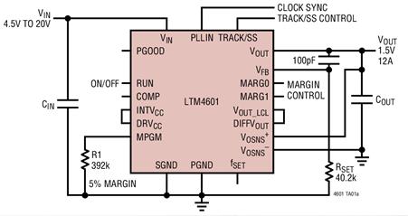 DC/DC uModule負載點POL穩壓器的功能特點及應用范圍