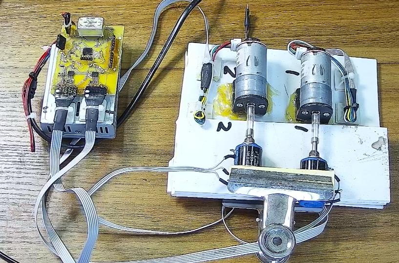 機械變阻器的控制器設計原理及控制命令