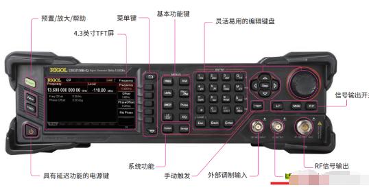 射頻信號源的LF口作用及相關測試