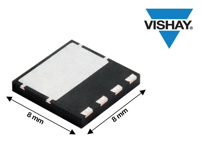 Vishay推出600V EF系列快速體二極管MOSFET,導通電阻比其前代器件低29%