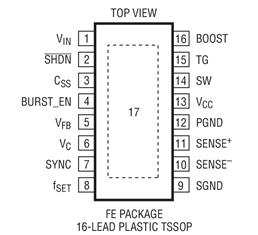 4V至60V DC/DC控制器LT3844的性能特點及適用范圍