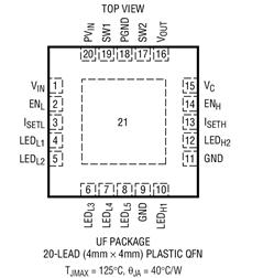 同步降壓升壓DC/DC轉換器LTC3452的性能特點及應用范圍