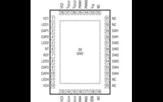 LED驅動器的DC/DC轉換器LT3476的性能特點及功能實現