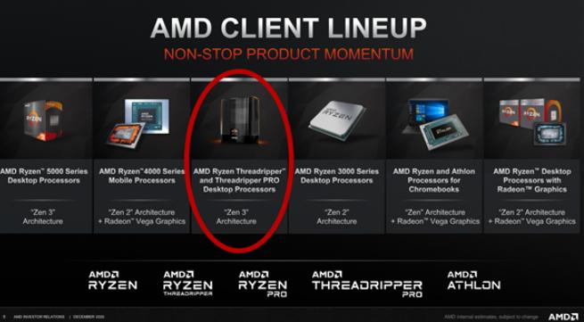 AMD新一代撕裂者處理器將明年發布