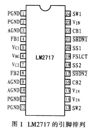 高性能转换器LM2717和LM2716的性能特点及应用
