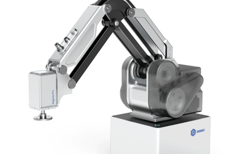 越疆重磅发布了首款工业级桌面协作机械臂产品 MG400