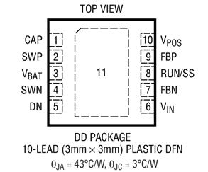 DC/DC降壓型控制器LTC3835的性能特點及應用范圍