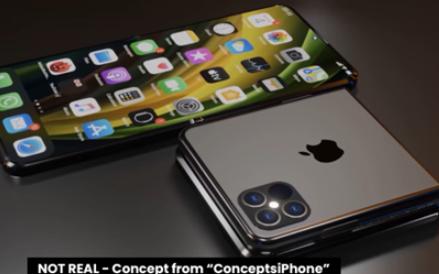 蘋果折疊屏手機有兩款,采用雙屏幕設計