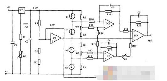 二氧化碳气体传感器检测电路解析