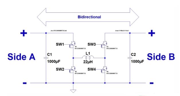 一款雙向降壓-升壓轉換器設計方案解析