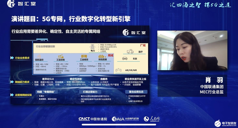 中國聯通三大5G專網產品旨在提升客戶體驗
