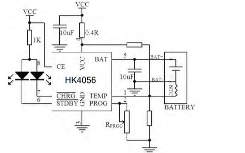 HK4056線性充電管理芯片的數據手冊免費下載