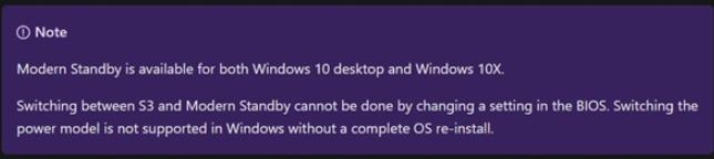 """Windows 10X将支持""""现代待机""""功能"""