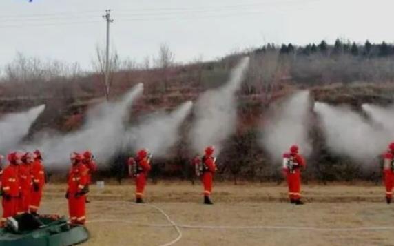 無人機、熱成像助力津城森林防火救援