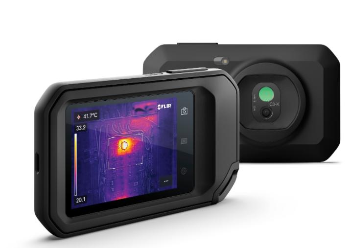 菲力爾推出新款FLIR C3-X口袋熱像儀,性能提升,應用更廣泛
