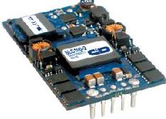 开放式1/4砖形DC/DC转换器SLC100的性...