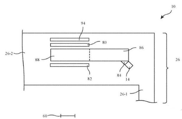 蘋果申請了名為局部光調節顯示系統的新專利