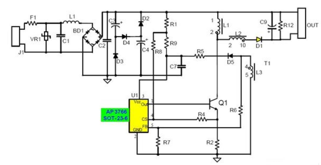 浅谈LED驱动电源种类及特殊性