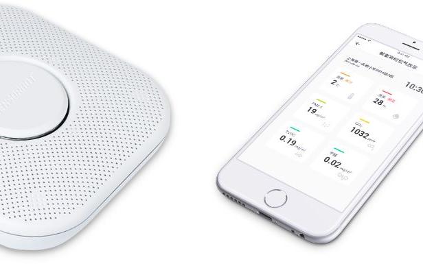 颯浡科技sensorbot AQS:可監測室內空氣質量的智能設備