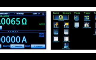 2460高电流数字源表的功能特点及应用分析