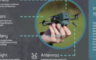 """Bug""微型无人机原型机可在恶劣天气中使用"