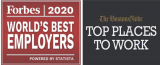 ADI公司再次荣登福布斯2020年全球最佳雇主榜单