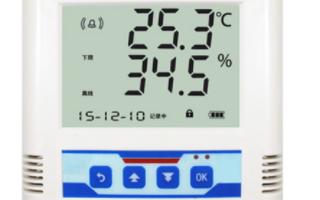 通过采用WIFI型温湿度传感器对环境温湿度进行实时监测