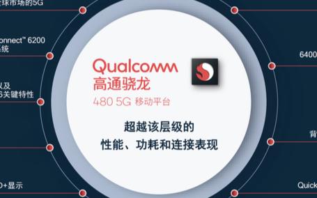 高通发布骁龙480:将释放5G手机在中低端市场的潜能