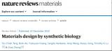 基于合成生物学技术的材料设计